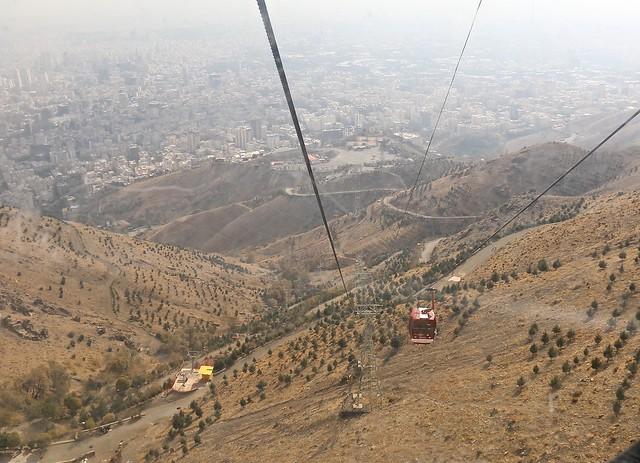Tochal Telecabin, Tehran, Iran