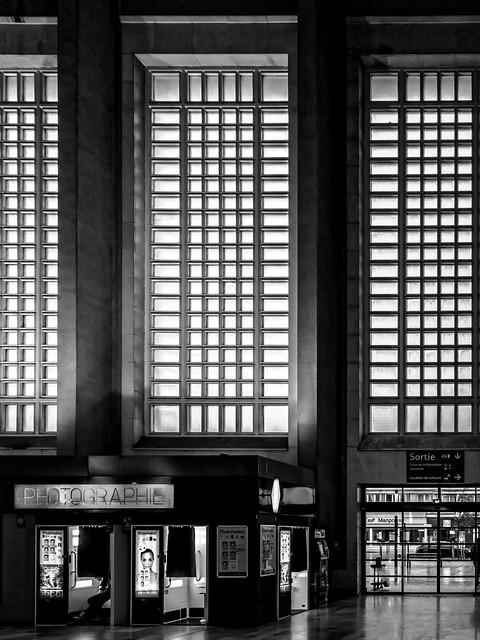Le Havre - La gare - 1932