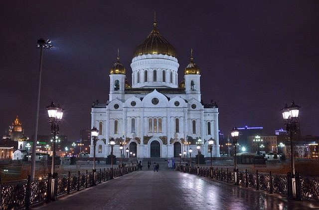 Cathedral of Christ the Saviour / Moscow / モスクワ