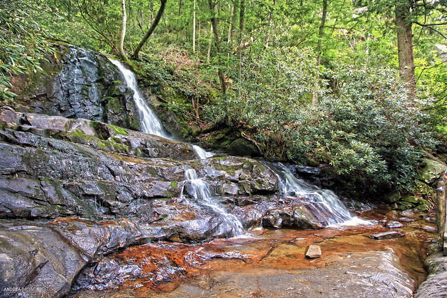 Laurel Falls, Great Smoky Mountains National Park - North Carolina and Tennessee