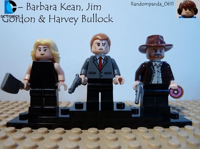 Barbara Kean, Jim Gordon & Harvey Bullock  #LegoGothamWeek