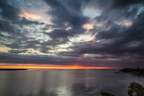 sunset water australia metung lakeking canon5dm3