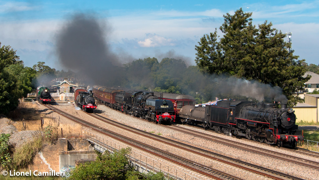 The 2016 Great Train Race by LC501