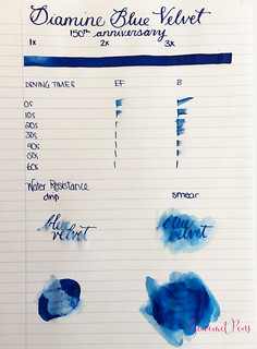 Ink Shot Review Diamine 150th Anniversary Blue Velvet @AppelboomLaren (1) | by GourmetPens