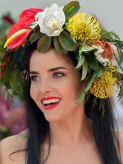 Flower Girl - Smile