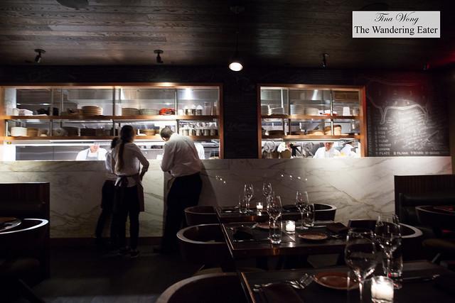 Interior, looking toward the kitchen