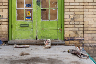 Dundas West doorway | by Phil Marion