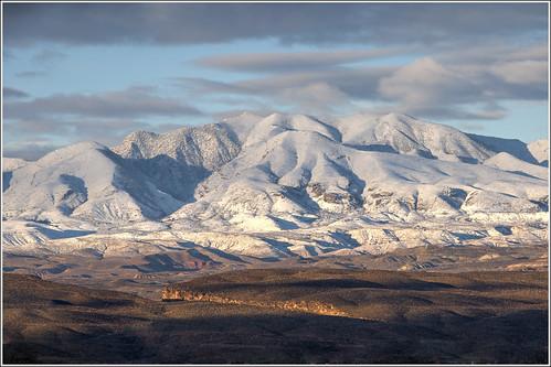 winter sky mountain snow clouds landscape utah desert mojave wilderness stgeorge saintgeorge mohave beaverdammountains utahhill westmountainpeak