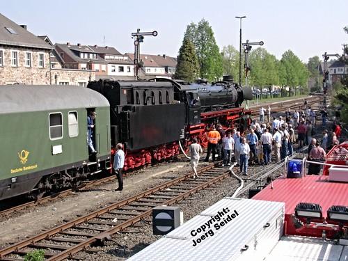 steamtrain dampflok westerwald altenkirchen sonderzug vapeur deutschebundesbahn deutschereichsbahn dampfzug nostalgiezug 41360 wgf2007 nikonview19 dampflok41360 westerwaldbahn sonderfahrten2007