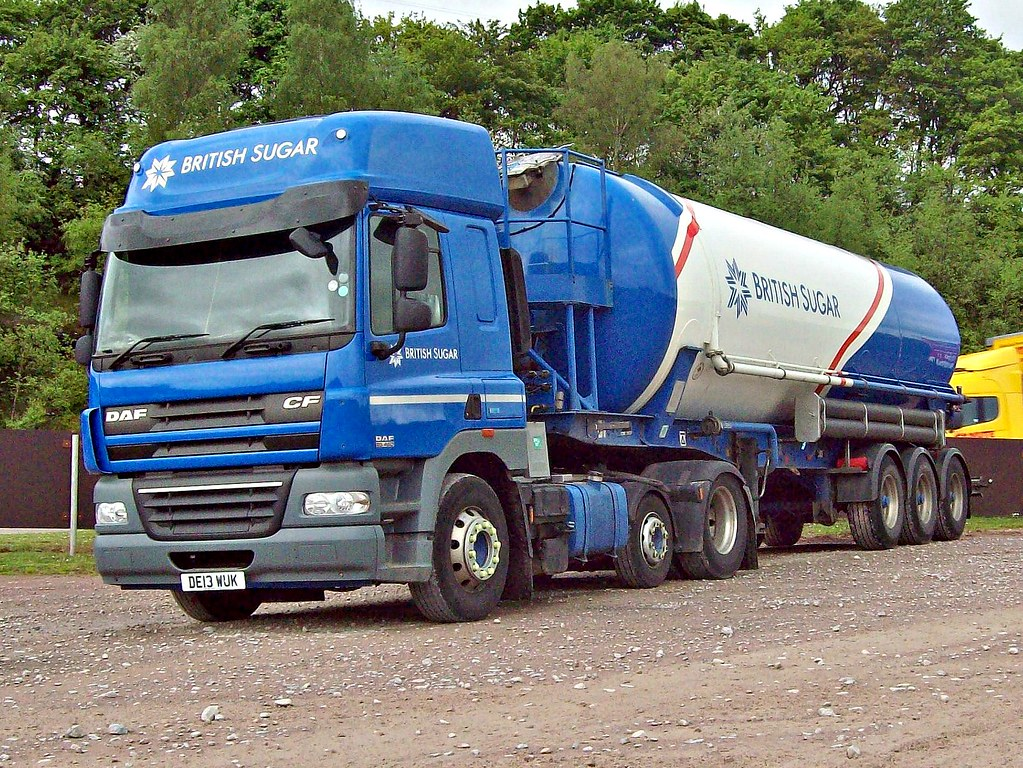 299 DAF CF (2013) British Sugar | DAF CF (2013) Engine 12,90