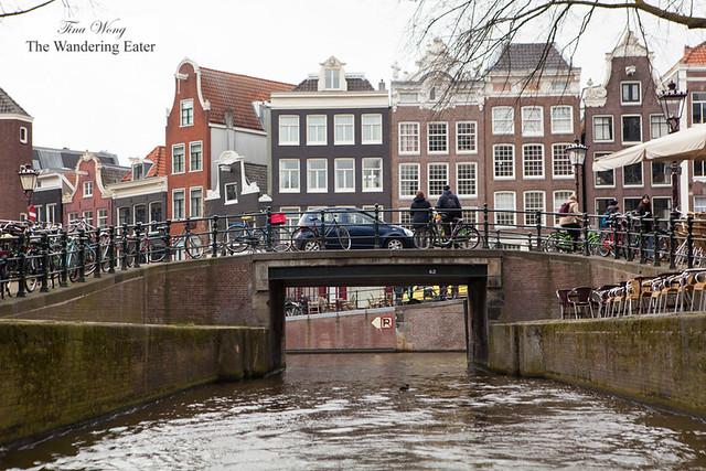 A quintessential scene in Amsterdam