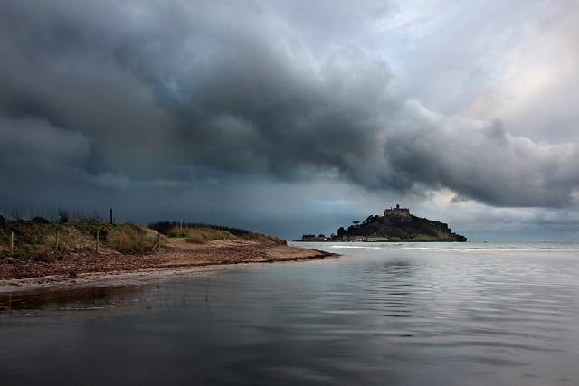 St Michael's Mount before the rain