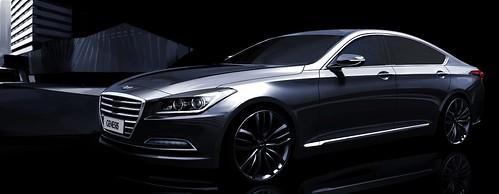 2014 Hyundai Genesis Sedan - Hyundai Motor Previews - 01 | by Az online magazin