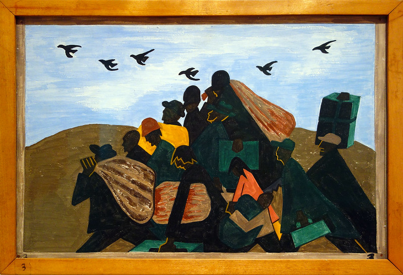 "Jacob Lawrence, Panel 3 from the ""Migration Series,"" 1940-1941"