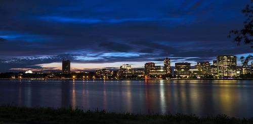 longexposure boston reflections river ma mit massachusetts charlesriver charles bluehour massachusettsinstituteoftechnology