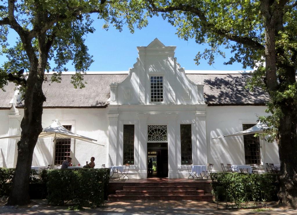 Cape Dutch Architecture Stellenbosch South Africa Flickr