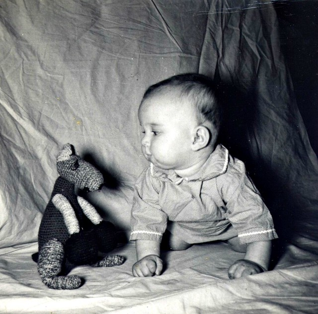 Catherine, 4 months old, Rochester 1954