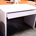 Brand new white laminate desk