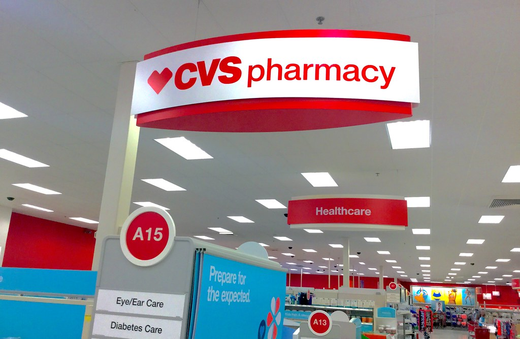 Target CVS Pharmacy   Target CVS Pharmacy, 4/2015, pics by M