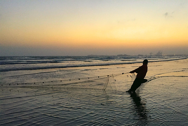 Fishing at Seaview Karachi