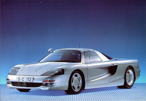 1991 Mercedes-Benz C112 Concept Car | by aldenjewell