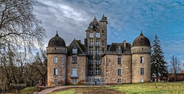 Chateau d'Aynac 46120 France