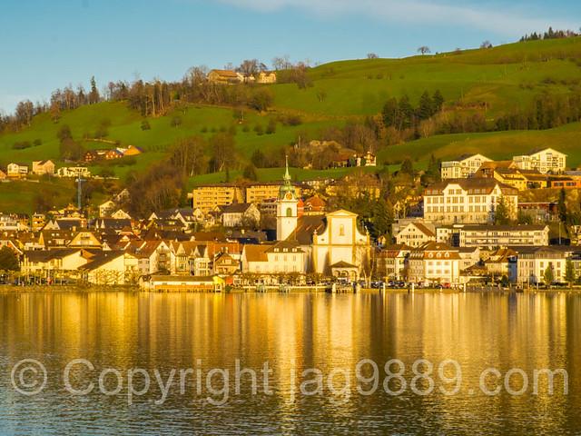 Küssnacht am Rigi on Lake Lucerne, Canton Schwyz, Central Switzerland