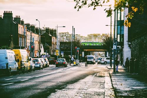 street city morning ireland houses urban dublin architecture train sunrise europe irland dart leinster éire 18105mm nikond7100 ivvymillion
