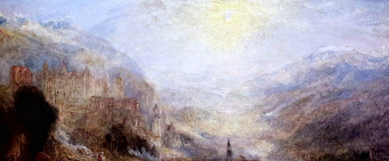 IMG_1711 Joseph Mallord William Turner. 1775-1851. London. Heidelberg. 1845. London Tate Britain.