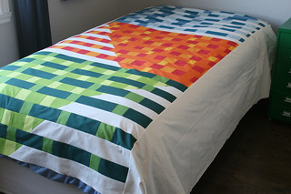 Improv Quilt Top | by thecharmingneedle