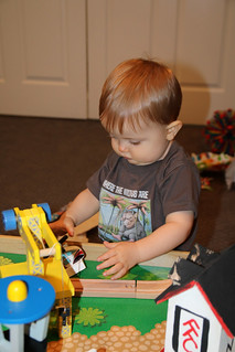 Finn's 1st Birthday   by LABabble