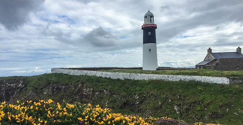 The East Lighthouse on Rathlin Islad | by brookscl