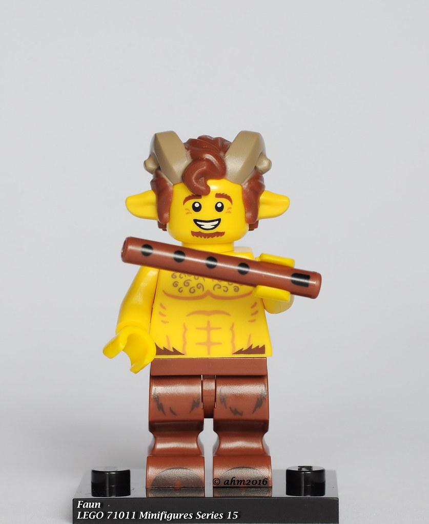 LEGO Minigigures Series15 71011 Faun NEW