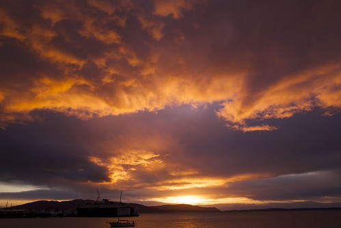 blue sunset sky orange mountains water clouds bestof ship wind washingtonstate shipping bellinghambay whatcomcounty dexhorton