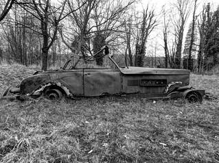 Autowrak, Clenet Series II Cabriolet  --HDR-- | by Frank Berbers