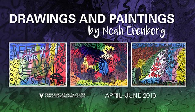 Drawings and Paintings by Noah Ekenberg [Art Exhibit 2016]