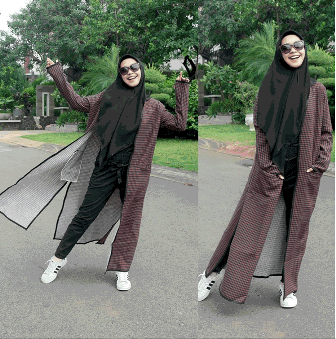 Gaya Busana Hijab Remaja Modern Ala Ria Ricis A Photo On Flickriver