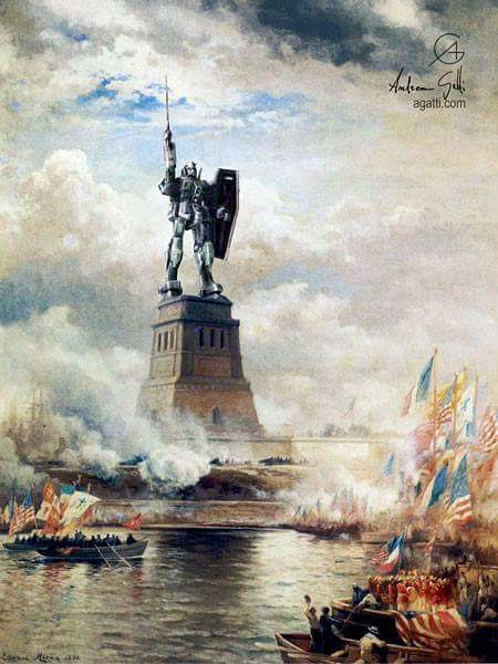 Unveiling Mr Liberty