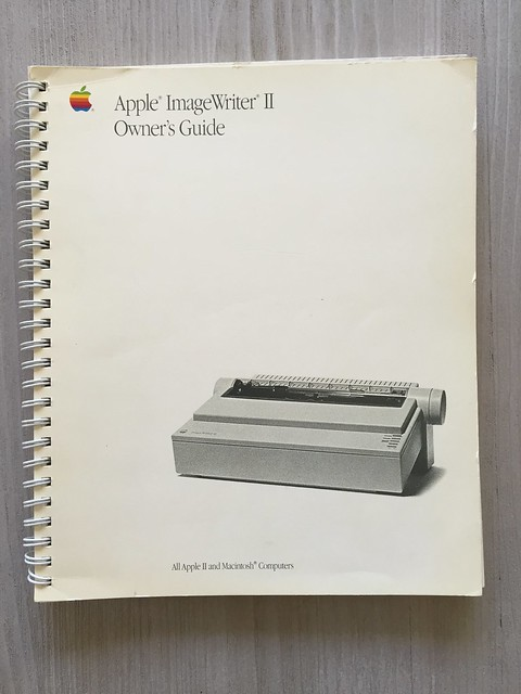 Apple ImageWriter II Owner Guide