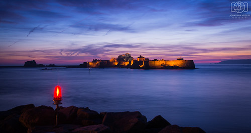 longexposure sunset sea castle nikon dusk jersey channelislands d610 elizabethcastle