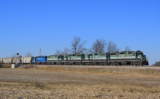 Evansville Western  EVWR 3834 (GP38-2)