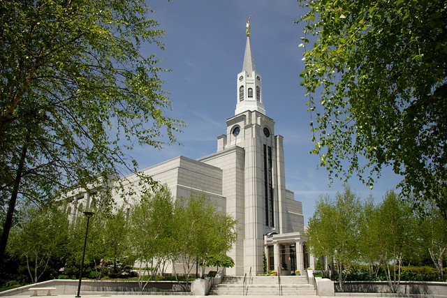 Boston Mass Temple