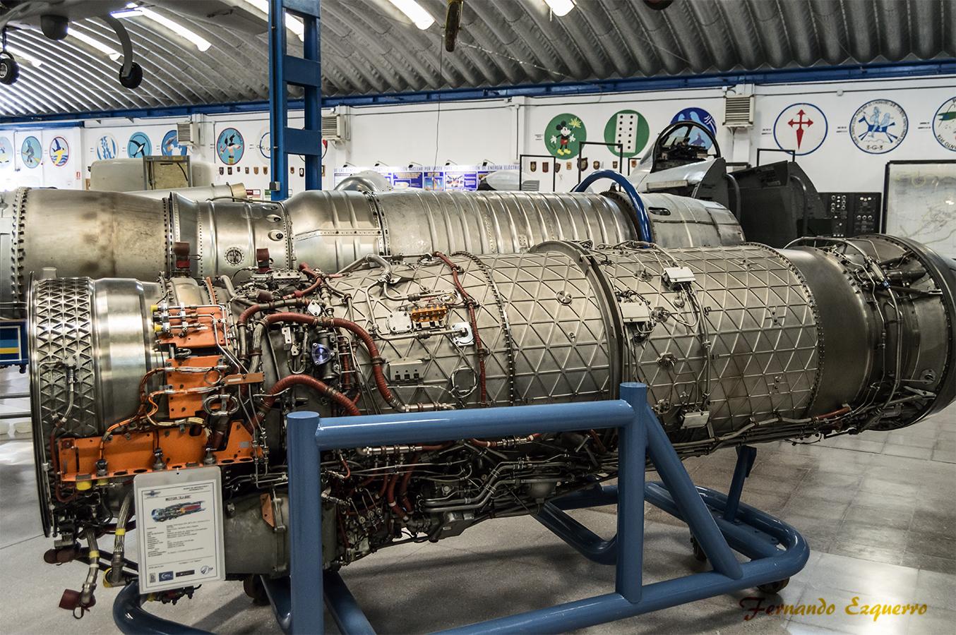 Motor Eurojet EJ-200