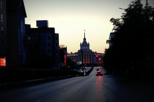 street morning travel summer history sunrise dawn europe cityscape sofia bulgaria balkans easterneurope