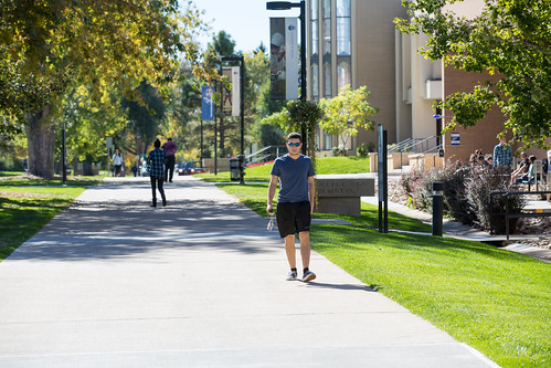 JWU Denver campus stroll