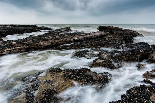 winter sea england beach water nikon rocks hastings eastsussex hoya pettlevel lr6 sigma1020f456 d7100 nd32