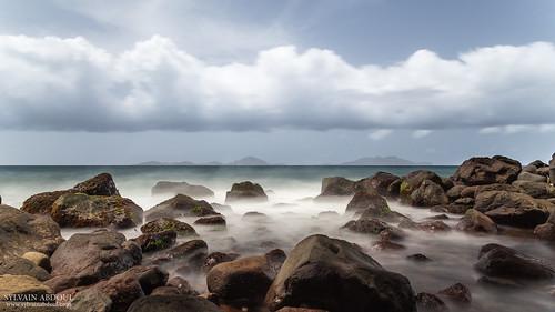 nuage brume rochers guadeloupe lessaintes basseterre troisrivières terredebas terredehaut longueexpositon