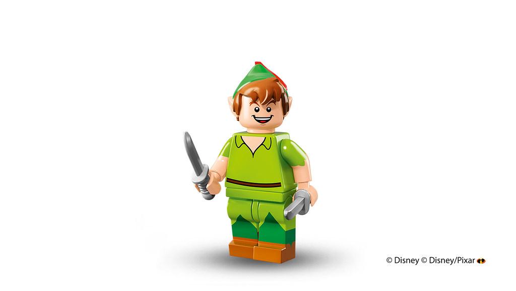 New LEGO Minifigures Disney Series 71012 Peter Pan