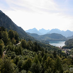 Alpsee am Schloss Neuschwanstein