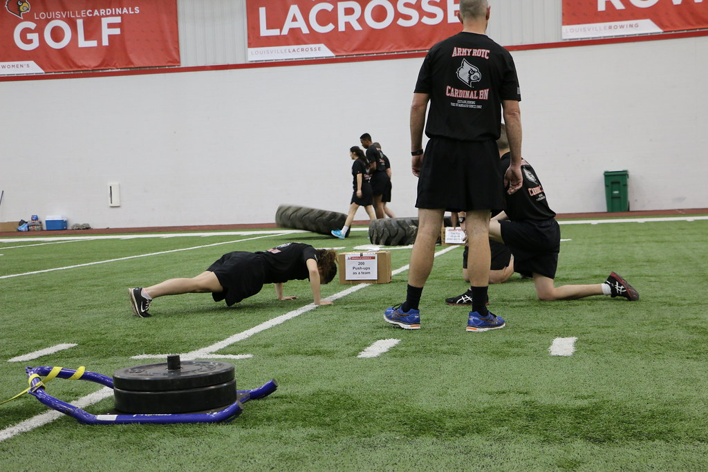 UofL PT session 1 April   U S  Army Cadet Command (ROTC)   Flickr